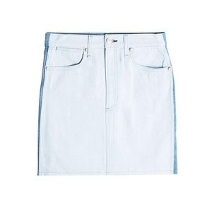 Rag & Bone Women's Two-Tone Denim Skirt